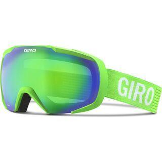 Giro Onset, bright green monotone/loden green - Skibrille