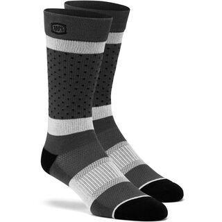 100% Opposition Socks, grey - Radsocken
