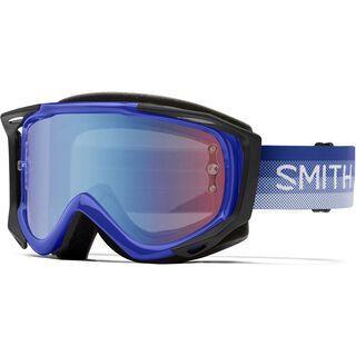 Smith Fuel V.2 inkl. WS, klein fade/Lens: blue sensor mir - MX Brille