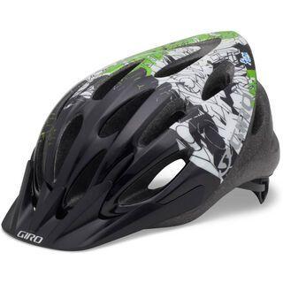 Giro Flume, ano green/black blockade - Fahrradhelm