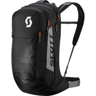 Scott Trail Protect Evo Fr'24, caviar black/dark grey - Fahrradrucksack