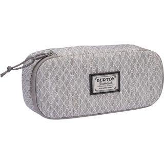 Burton Switchback Case, grey heather/diamond ripstop - Pencil Case