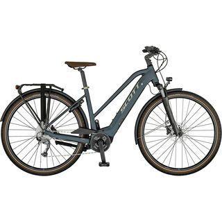 Scott Sub Active eRide Lady petrol blue/gloss metal beige/black 2021