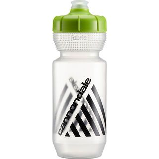 Cannondale Retro Bottle 600 ml, clear/green - Trinkflasche