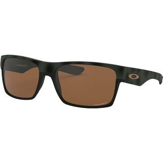 Oakley TwoFace Prizm, olive camo/Lens: prizm tungsten - Sonnenbrille