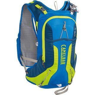 Camelbak Ultra 10 Vest inkl. Antidote Trinkblase, electric blue/lime punch - Trinksystem