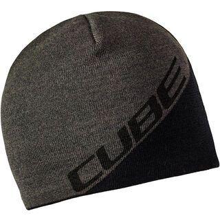 Cube Beanie Logo, black´n´anthracite - Mütze