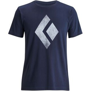 Black Diamond S/S Chalked Up Tee, captain - T-Shirt