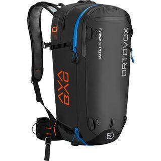 Ortovox Ascent 30 ohne Avabag-Unit, black anthracite - Lawinenrucksack