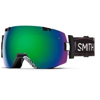 Smith I/Ox inkl. Wechselscheibe, abma id/Lens: green sol-x mirror - Skibrille