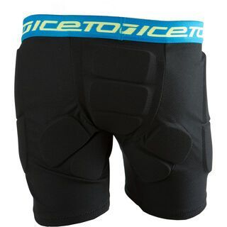 Icetools Underpants Junior, black blue - Protektorhose