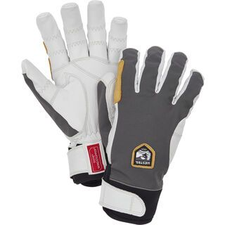 Hestra Ergo Grip Active 5 Finger, grey/offwhite - Skihandschuhe