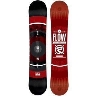 Flow Merc Wide, Black - Snowboard