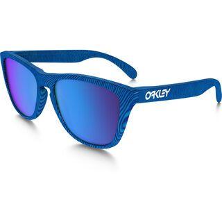 Oakley Frogskins Fingerprint, sky blue/Lens: sapphire iridium - Sonnenbrille