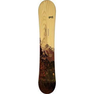 goodboards Prima Camber 2015, kirsche braun - Snowboard