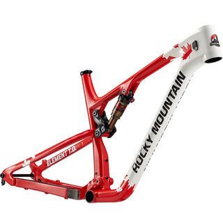 Rocky Mountain Element 999 RSL T.O. Frame 2017, red/white