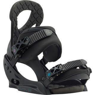 Burton Stiletto EST 2018, black matte - Snowboardbindung