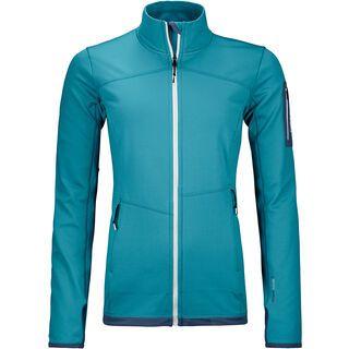 Ortovox Merino Fleece Light Jacket W, aqua - Fleecejacke