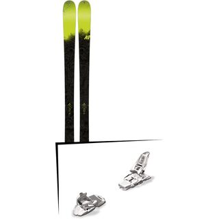 Set: K2 SKI Sight 2018 + Marker Squire 11 white