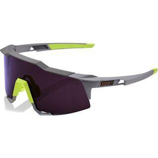 100% Speedcraft Small inkl. WS, soft tact midnight mauve/Lens: smoke lens - Sportbrille