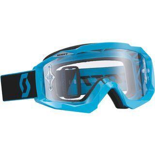 Scott Hustle MX, blue/black/clear works - MX Brille