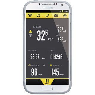Topeak RideCase Samsung Galaxy S4 mit Halter, white - Schutzhülle
