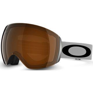 Oakley Flight Deck, Light Grey Black/Black Iridium - Skibrille