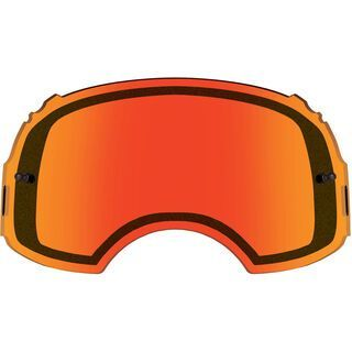 Oakley Airbrake MX Lens, dual persimmon - Wechselscheibe