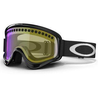 Oakley O Frame, Jet Black/H.I. Yellow - Skibrille
