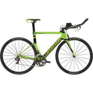 Cannondale Slice Ultegra Di2 2017, bz green/black/volt - Triathlonrad