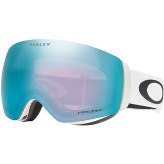 Oakley Flight Deck XM Prizm, matte white/Lens: sapphire iridium - Skibrille