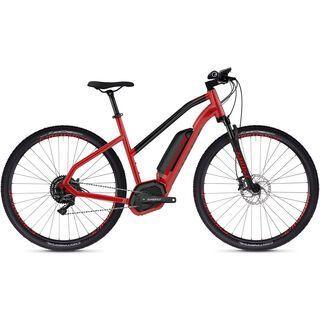 Ghost Hybride Square Cross B4.9 W AL 2019, red/black - E-Bike