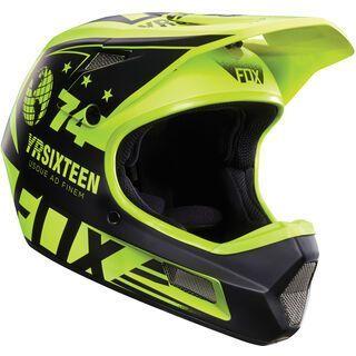 Fox Rampage Comp Helmet, flow yellow - Fahrradhelm