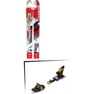 K2 SKI Set: Coomback 104 2016 + Marker Kingpin 10