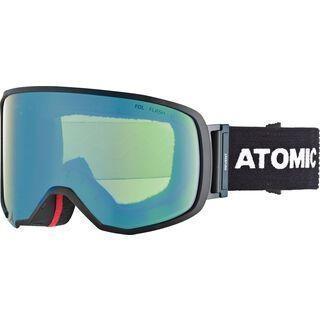 Atomic Revent L FDL, black/Lens: yellow-blue flash - Skibrille