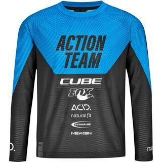Cube Junior Trikot langarm X Actionteam