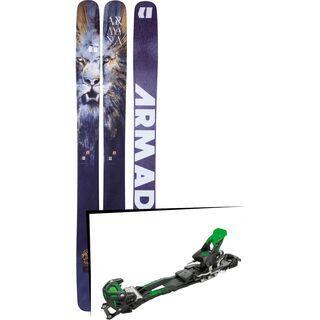 Set: Armada Magic J 2018 + Tyrolia Adrenalin 16 solid black flash green