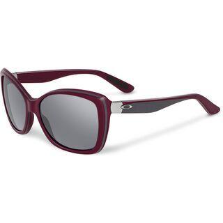 Oakley News Flash, Pomegranate/Grey Polarized - Sonnenbrille