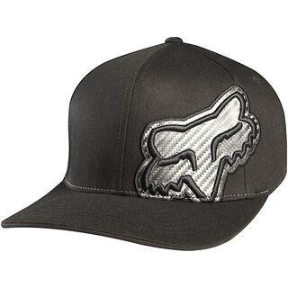 Fox Carbonation Flexfit Hat 2012, Black - Cap