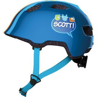 Scott Chomp, blue stripe - Fahrradhelm