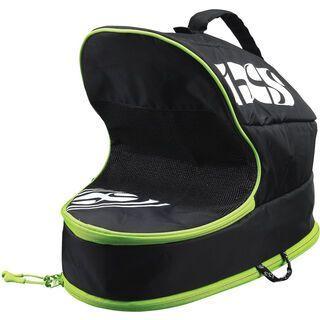 IXS Helmet Case Full Face, black/green - Helmtasche