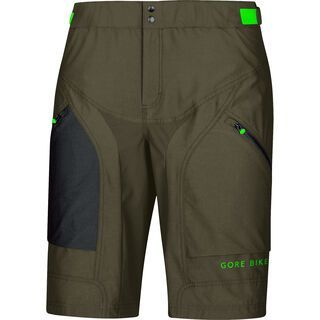 Gore Bike Wear Power Trail Shorts+, ivy green - Radhose