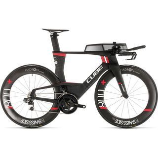 Cube Aerium C:68 SLT Low 2019, carbon´n´red - Triathlonrad