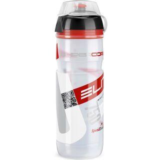 Elite Supercorsa MTB, transparent/rot - Trinkflasche