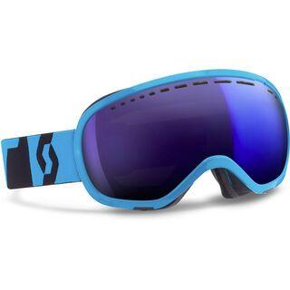 Scott Off-Grid, neon blue/blue chrome - Skibrille