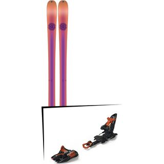 Set: K2 SKI Missconduct 2018 + Marker Kingpin 10 black/copper