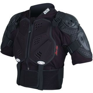 IXS Hammer Jacket, black - Protektorenjacke