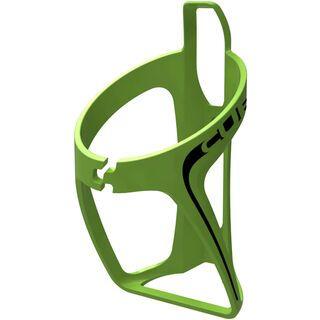 Cube Flaschenhalter HPP, matt grün/schwarz - Flaschenhalter