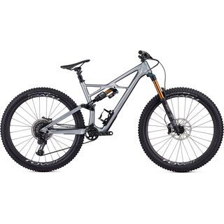 Specialized S-Works Enduro 29 2019, flake silver/tarmac black - Mountainbike