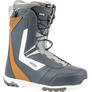 Nitro Sentinel TLS 2020, navy blue/brown/white - Snowboardschuhe